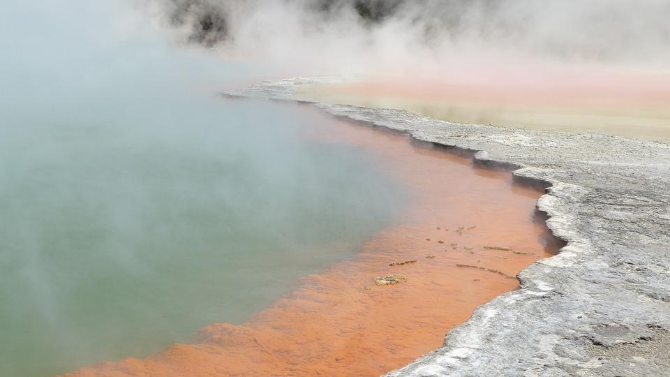 dampfende quellen neuseeland